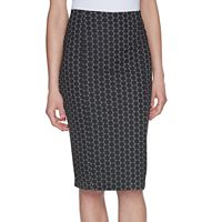 Women's ELLE™ Geometric Pencil Skirt