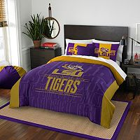 LSU Tigers Modern Take Full/Queen Comforter Set by Northwest