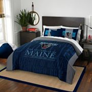 Maine Black Bears Modern Take Full/Queen Comforter Set by Northwest
