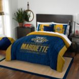 Marquette Golden Eagles Modern Take Full/Queen Comforter Set by Northwest