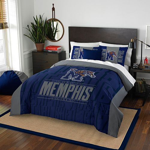 Memphis Tigers Modern Take Full/Queen Comforter Set by Northwest