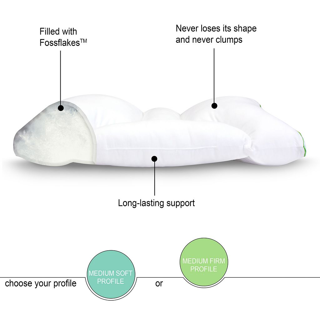 Sleep Yoga Dual Sleep Neck Pillow