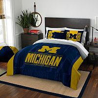 Michigan Wolverines Modern Take Full/Queen Comforter Set by Northwest