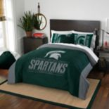 Michigan State Spartans Modern Take Full/Queen Comforter Set by Northwest