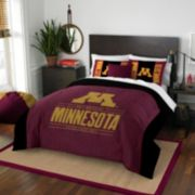 Minnesota Golden Gophers Modern Take Full/Queen Comforter Set by Northwest