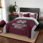 Mississippi State Bulldogs Modern Take Full/Queen Comforter Set by Northwest