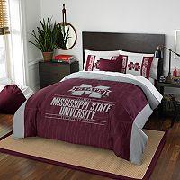 Mississippi State Bulldogs Modern Take Full/Queen Comforter Set by Northwest