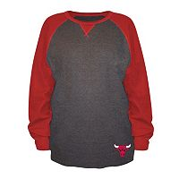 Big & Tall Majestic Chicago Bulls Raglan Thermal Tee