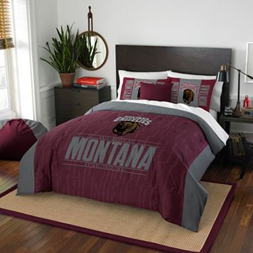Montana Grizzlies Modern Take Full/Queen Comforter Set by Northwest
