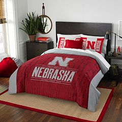 Nebraska Cornhuskers Modern Take Full/Queen Comforter Set by Northwest