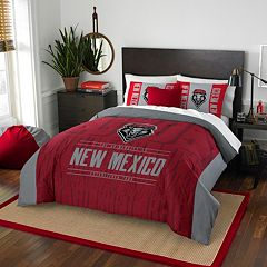 New Mexico Lobos Modern Take Full/Queen Comforter Set by Northwest