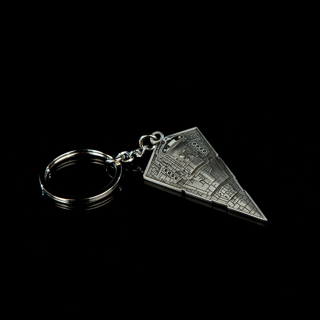 Star Wars Star Destroyer Replica Key Chain by Quantum Mechanix