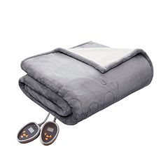 Woolrich Heated Plush & Berber Blanket