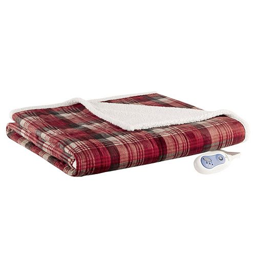 Woolrich Tasha Oversized Heated Throw