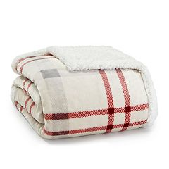 Eddie Bauer Newcastle Sherpa Throw