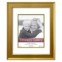 Timeless Frames Gold Finish Matted Frame