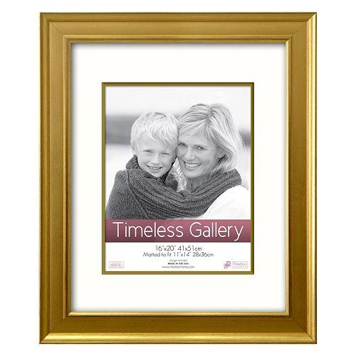 Timeless Frames Gold Finish Matted Frame