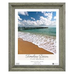 Timeless Frames Washed Wood Frame