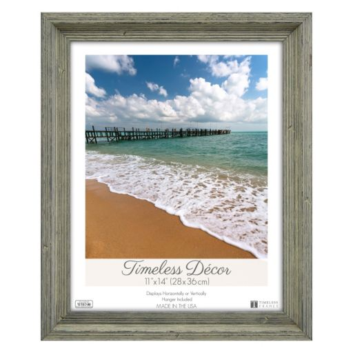 Timeless Frames Washed Wood Frame