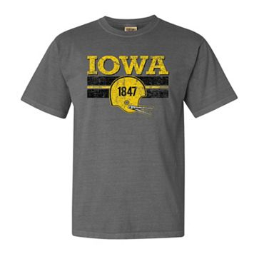 Men's Iowa Hawkeyes Retro Throwback Comfort Tee