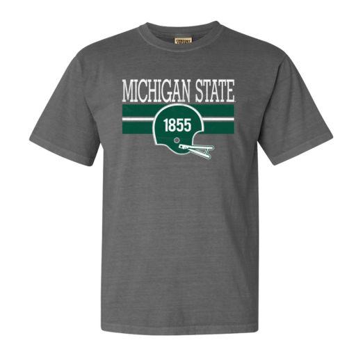 Men's Michigan State Spartans Retro Throwback Comfort Tee