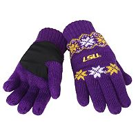 Adult Forever Collectibles LSU Tigers Lodge Gloves