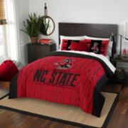 North Carolina State Wolfpack Modern Take Full/Queen Comforter Set by Northwest