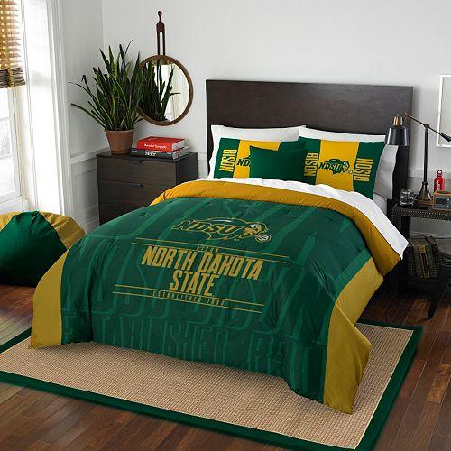 North Dakota State Bison Modern Take Full/Queen Comforter Set by Northwest