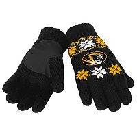 Adult Forever Collectibles Missouri Tigers Lodge Gloves