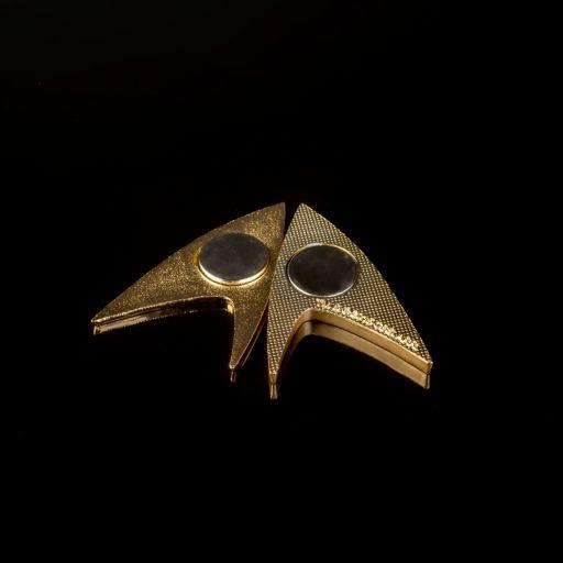 Star Trek 50th Anniversary Magnetic Badge by Quantum Mechanix