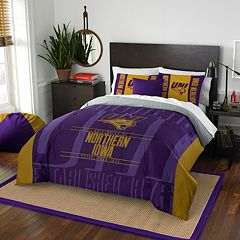 Northern Iowa Panthers Modern Take Full/Queen Comforter Set by Northwest