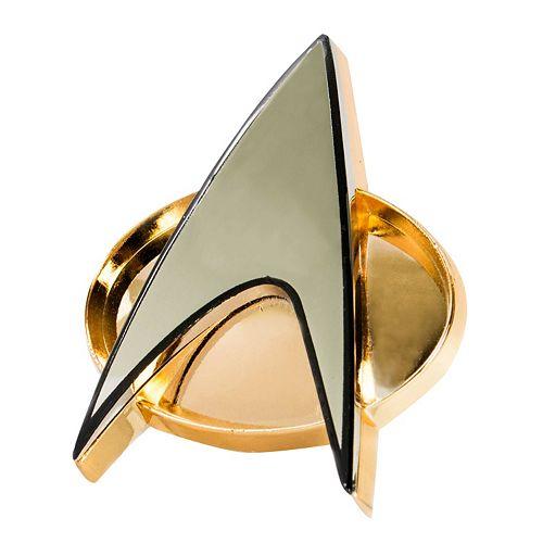 Quantum Mechanix Star Trek: The Next Generation Communicator Badge Replica
