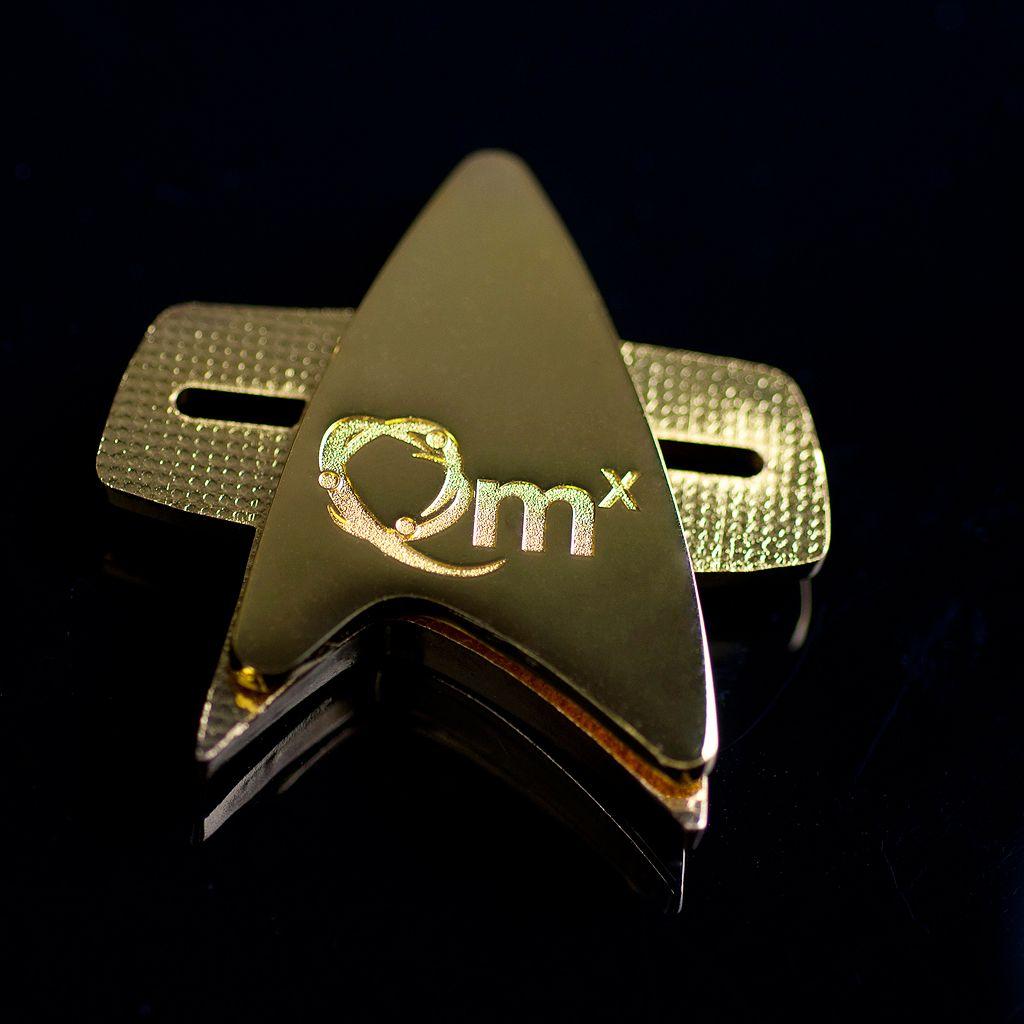 Star Trek: Voyager Communicator Badge by Quantum Mechanix