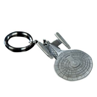 Quantum Mechanix Star Trek USS Enterprise NCC-1701-D Key Chain