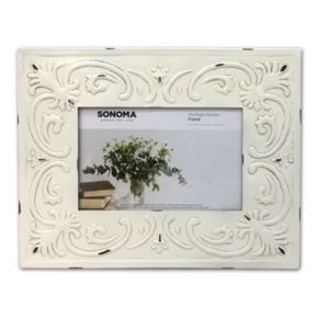 "SONOMA Goods for Life™ Farmhouse Embellished Metal 4"" x 6"" Frame"