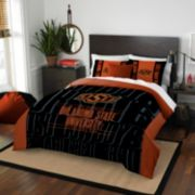 Oklahoma State Cowboys Modern Take Full/Queen Comforter Set by Northwest