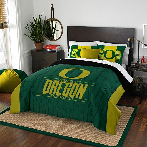 Oregon Ducks Modern Take Full/Queen Comforter Set by Northwest