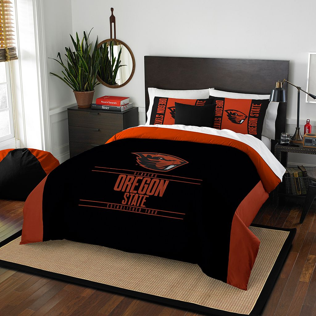 Oregon State Beavers Modern Take Full/Queen Comforter Set by Northwest
