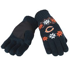 Adult Forever Collectibles Chicago Bears Lodge Gloves