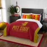 Pittsburg State University Modern Take Full/Queen Comforter Set by Northwest