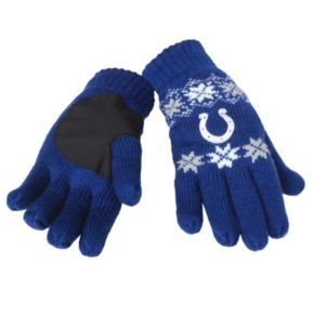 Adult Forever Collectibles Indianapolis Colts Lodge Gloves