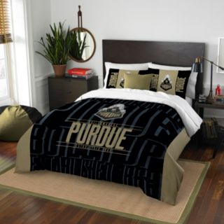 Purdue Boilermakers Modern Take Full/Queen Comforter Set by Northwest