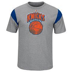 Big & Tall Majestic New York Knicks Team Tee