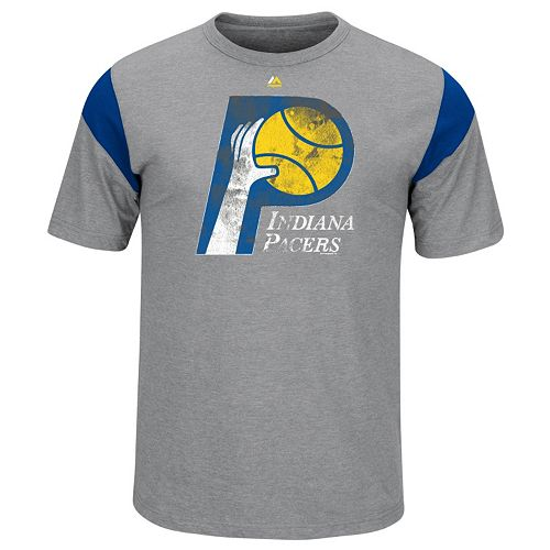 Big & Tall Majestic Indiana Pacers Team Tee