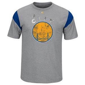 Big & Tall Majestic Golden State Warriors Team Tee