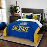 South Dakota State Jackrabbits Modern Take Full/Queen Comforter Set by Northwest