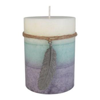 """SONOMA Goods for Life? Farmhouse Lilac & Jasmine 3"""" x 4"""" Pillar Candle"""