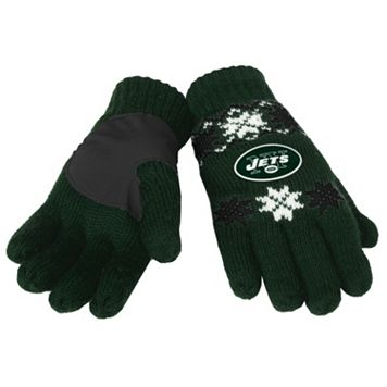 Adult Forever Collectibles New York Jets Lodge Gloves