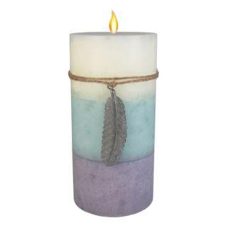 """SONOMA Goods for Life™ Farmhouse Lilac & Jasmine 3"""" x 6"""" Pillar Candle"""