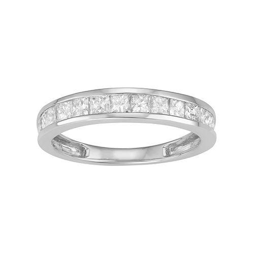 10k Gold 1 Carat T.W. Diamond Wedding Ring
